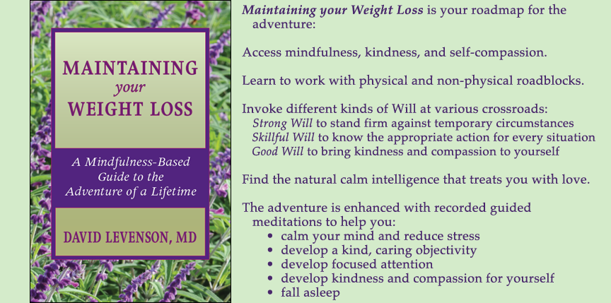 Maintaining Your Weight Loss